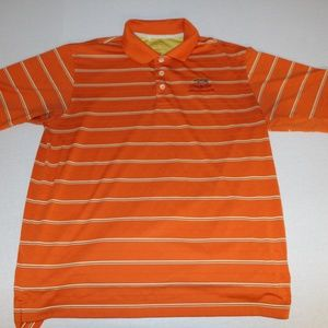 Adidas Golf Climacool Polo Shirt Mens L Orange